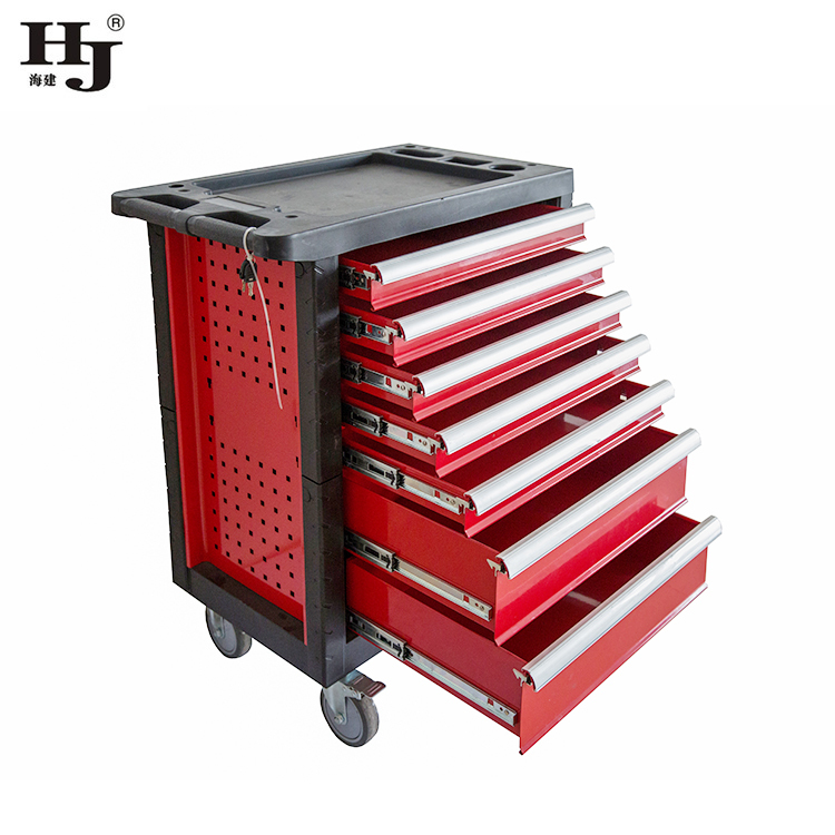 Seven Metal Drawers Tool Cabinet