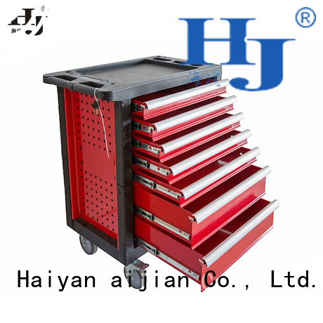 Custom red tool box on wheels Supply For industry