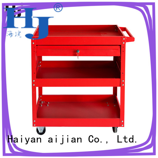 Haiyan large red tool chest manufacturers For tool storage