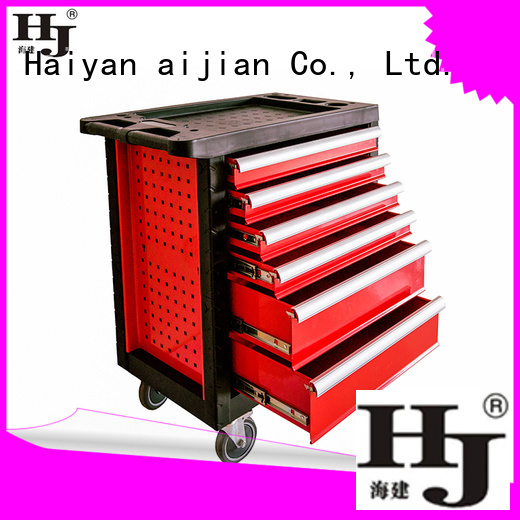 Haiyan rolling metal tool chest Suppliers For tool storage