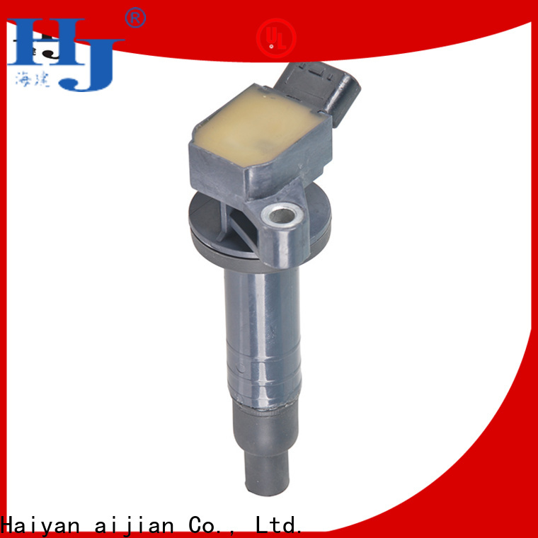 Haiyan Best performance ignition coil pack factory For Toyota