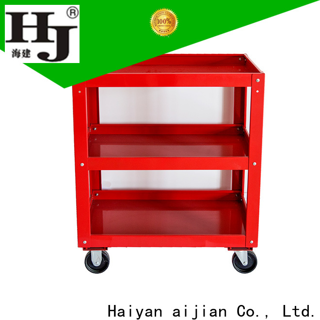 Haiyan wheeled tool box trolley company For industry